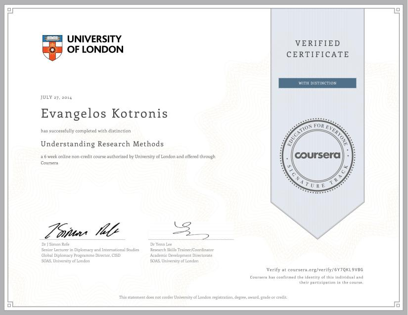 Coursera researchmethods 2014
